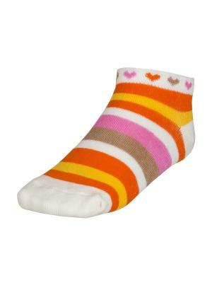Носки BAYKAR. Цвет: оранжевый
