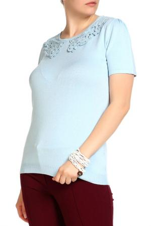Пуловер LOLA PALTINGER. Цвет: синий