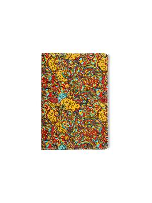 Обложка для паспорта  Жар-птица TonyFox. Цвет: желтый, синий, голубой, красный