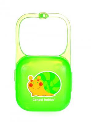 Контейнер для пустышки, цвет: зеленый Canpol babies. Цвет: зеленый