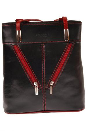 Сумка-рюкзак Emilio masi. Цвет: black, bordo