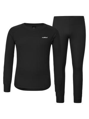Комплект (брюки+ джемпер ) Rukka. Цвет: черный