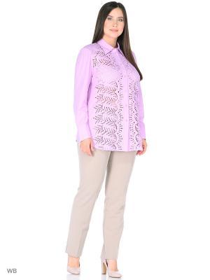 Блузка BERKLINE. Цвет: сиреневый