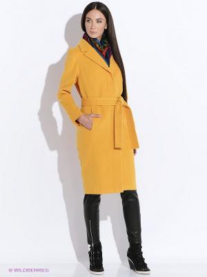 Пальто DOCTOR E. Цвет: горчичный