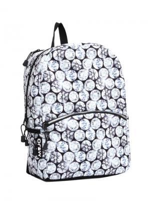 Рюкзак Mojo Backpacks. Цвет: белый, черный