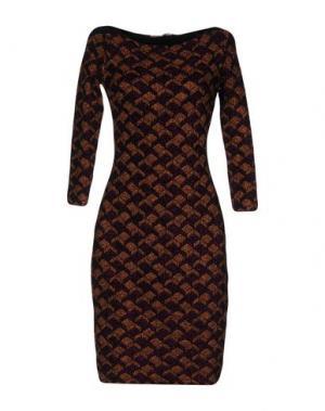 Короткое платье VICEDOMINI. Цвет: розовато-лиловый
