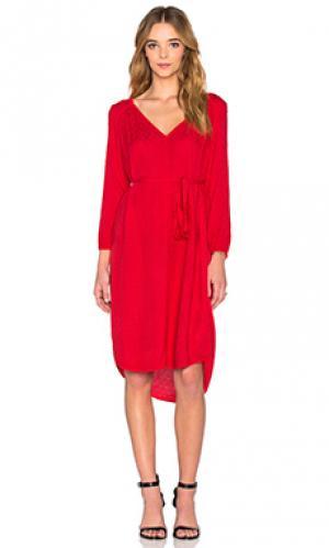 Платье floressa Velvet by Graham & Spencer. Цвет: красный