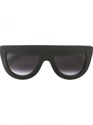 Солнцезащитные очки Céline Eyewear. Цвет: чёрный