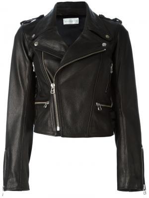 Байкерская куртка мешковатого кроя Faith Connexion. Цвет: чёрный