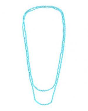 Ожерелье ANNA MOLINARI. Цвет: бирюзовый