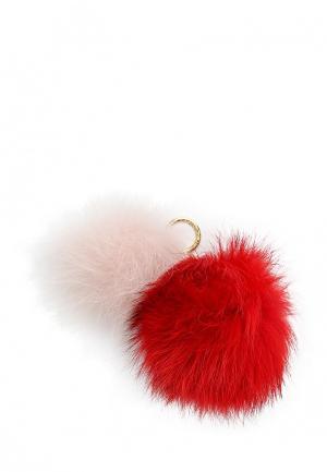 Брелок Michael Kors. Цвет: красный
