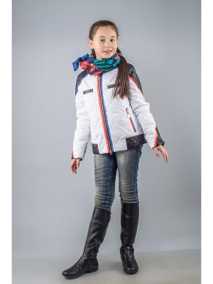 Куртка Fobs. Цвет: белый