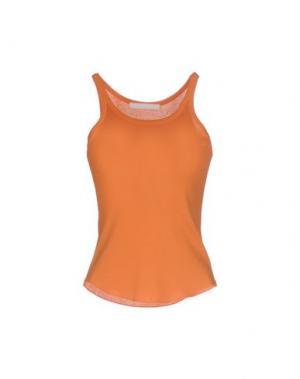Майка BP STUDIO. Цвет: оранжевый