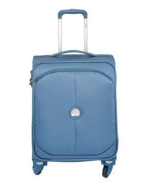 Чемодан/сумка на колесиках DELSEY. Цвет: цвет морской волны
