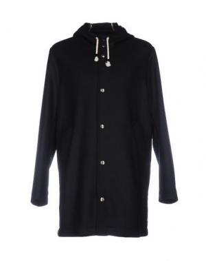 Пальто OFFICINA 36. Цвет: темно-синий