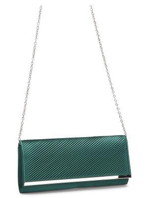 Клатч Eleganzza. Цвет: морская волна, темно-зеленый