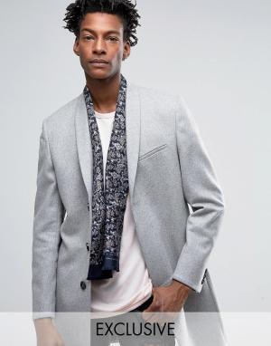 Heart & Dagger Шелковый шарф с принтом пейсли. Цвет: черный