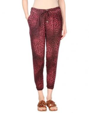 Повседневные брюки SOALLURE. Цвет: красно-коричневый