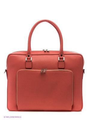 Портфель Gianni Conti. Цвет: розовый