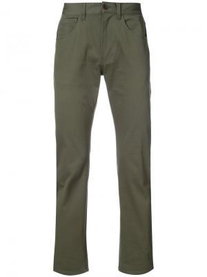 Классические брюки чинос 321. Цвет: зелёный