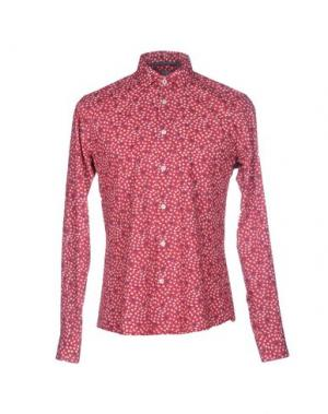 Pубашка AT.P.CO. Цвет: пурпурный