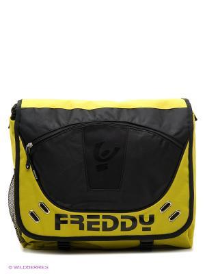 Сумка Freddy. Цвет: желтый