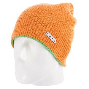 Шапка носок  Daily Reversible Slm/Orange Neff. Цвет: зеленый,оранжевый