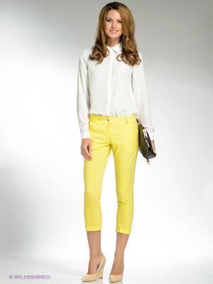 Капри SISTE'S. Цвет: желтый