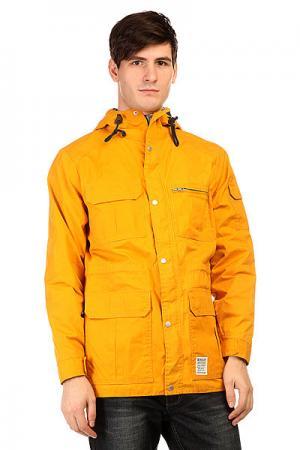 Куртка парка  Trick Daddy Masala Insight. Цвет: желтый