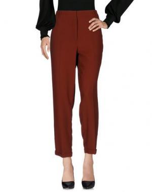 Повседневные брюки ESSENTIEL ANTWERP. Цвет: кирпично-красный