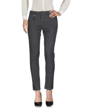 Повседневные брюки YAN SIMMON. Цвет: серый