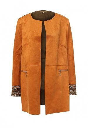 Пальто Sweet Miss. Цвет: оранжевый