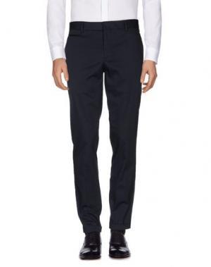 Повседневные брюки FAÇONNABLE. Цвет: темно-синий