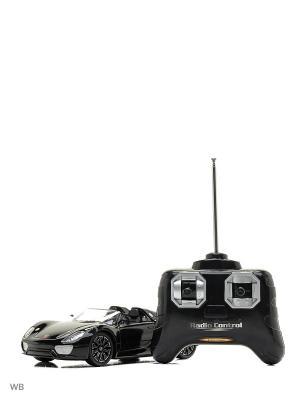 Машина р/у Porsche 918 Spyder  1:24 HOFFMANN. Цвет: черный