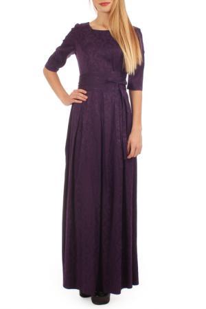 Платье Lamiavita. Цвет: фиолетовый