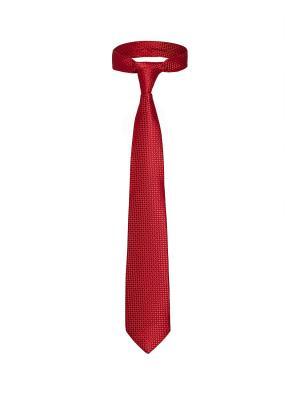 Классический галстук Сделка в Париже мелкий ромб Signature A.P.. Цвет: красный, бордовый