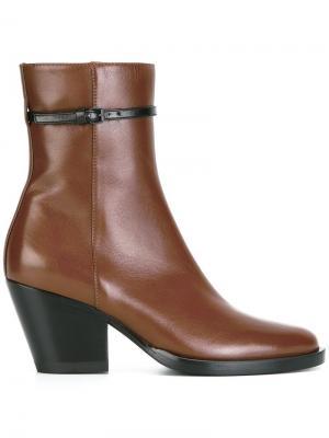 Ботинки с ремешком A.F.Vandevorst. Цвет: коричневый