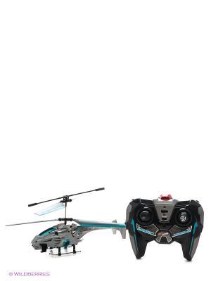 Вертолет на ИК управлении с гироскопом, системой Круиз-контроль AULDEY. Цвет: серый, черный
