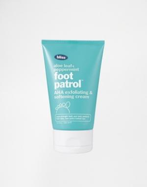 Bliss Крем для ног Foot Patrol. Цвет: бесцветный