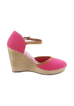 Туфли CITY WALK. Цвет: темно-синий, черный, ярко-розовый