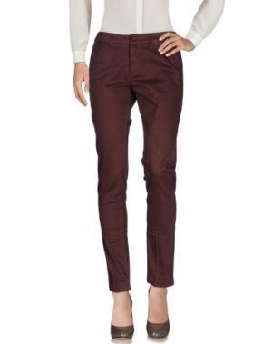 Повседневные брюки KUBERA 108. Цвет: баклажанный