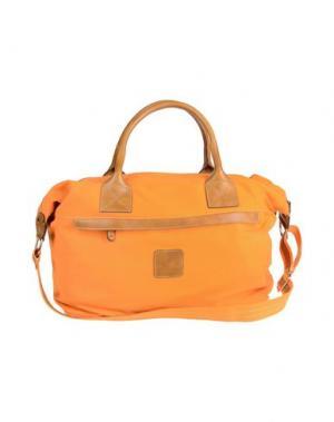 Дорожная сумка CALABRESE NAPOLI. Цвет: оранжевый