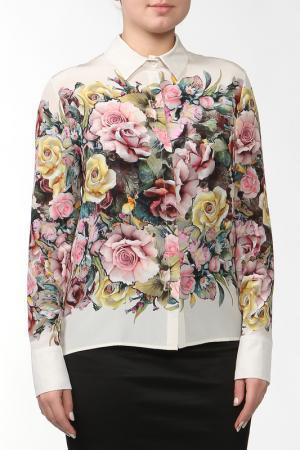 Блуза D.Exterior. Цвет: мультицвет