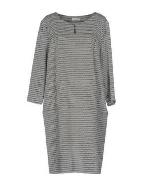 Короткое платье ROSSO35. Цвет: слоновая кость