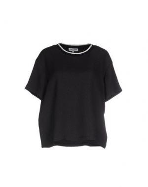 Блузка OPENING CEREMONY. Цвет: черный