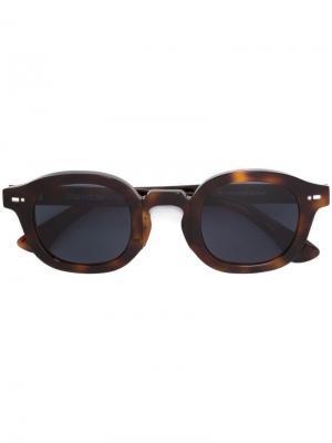 Солнцезащитные очки Movitra. Цвет: коричневый