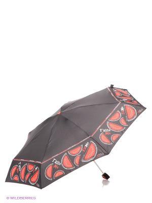 Зонт H.DUE.O. Цвет: черный, красный