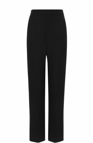 Укороченные брюки прямого кроя со стрелками Balenciaga. Цвет: черный