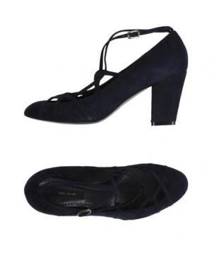 Туфли MARC JACOBS. Цвет: темно-синий