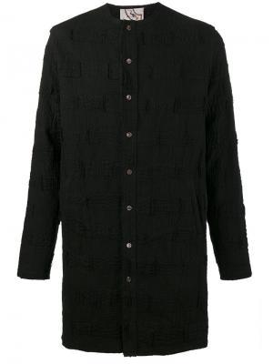 Удлиненная рубашка-туника By Walid. Цвет: чёрный